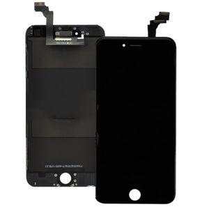 iPhone 6 Plus Бял/Черен LCD Дисплей дигитайзер + тъч скрийн