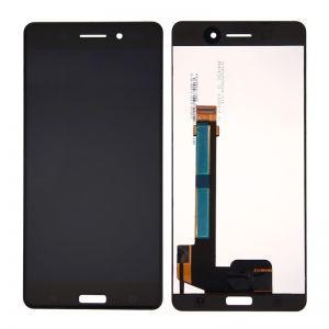 LCD дисплей за Nokia 6 (NEW)+ тъч скрийн Черен