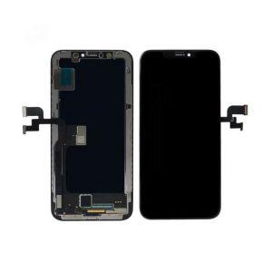 HQ OLED Съвместим LCD Дисплей за iPhone XS 5.8' + Тъч скрийн / Черен /
