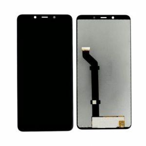 LCD дисплей за Nokia 3.1 Plus (2018)+ тъч скрийн Черен